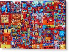 Maseed Maseed Acrylic Print by Mohamed Fadul