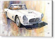 Maserati 3500gt Coupe Acrylic Print by Yuriy  Shevchuk
