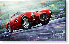 Maserati A6gcs Berlinetta By Pininfarina 1954 Acrylic Print