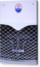 Maserati Emblems Acrylic Print