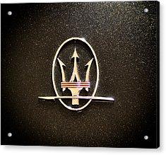 Maserati Logo Acrylic Print