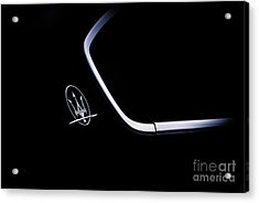Maserati Quattroporte  Acrylic Print by Tim Gainey