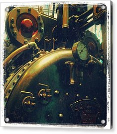 #mashines ... #steamengine #engine Acrylic Print