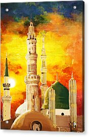 Masjid E Nabwi Acrylic Print