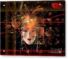 Mask 0145 Marucii Acrylic Print