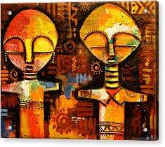 Mask 5 Acrylic Print