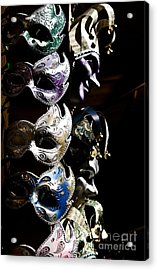 Mask In Florence Acrylic Print by Marco Affini