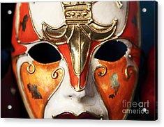 Mask Acrylic Print by John Rizzuto