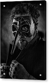 Mask Of The Red Death Acrylic Print