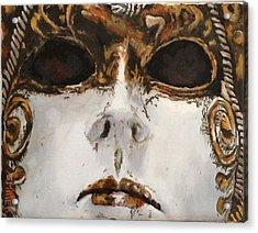 Mask Acrylic Print