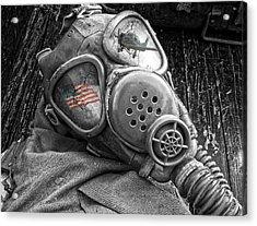 Masked Freedom Acrylic Print