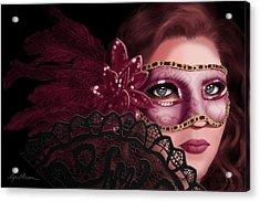 Masked I Acrylic Print