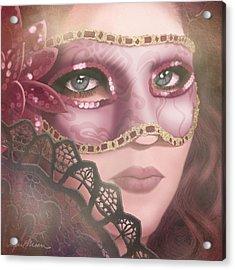 Masked Iv Acrylic Print