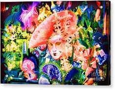 Masks Of Venice 28 Acrylic Print