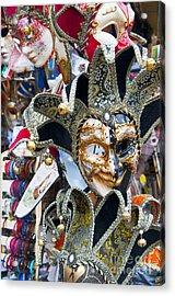 Masks With Attitude Acrylic Print