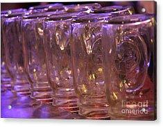 Mason Jars Acrylic Print by Yumi Johnson