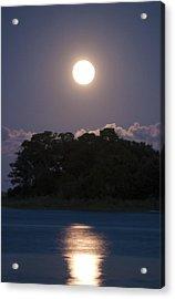 Masonboro Moonrise Acrylic Print