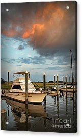 Masonboro Sunset #2 Acrylic Print