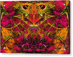 Masquerade 20140128 Acrylic Print by Wingsdomain Art and Photography