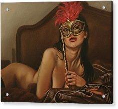 Masquerade I Acrylic Print