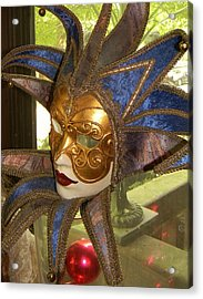 Acrylic Print featuring the photograph Masquerade by Jean Goodwin Brooks