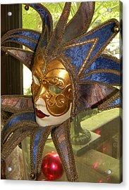 Masquerade Acrylic Print by Jean Goodwin Brooks