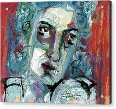 Masquerade Acrylic Print by Jim Vance