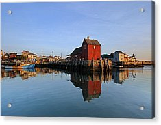 Massachusetts Rockport Harbor Acrylic Print by Juergen Roth