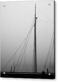 Mast And Rigging Acrylic Print by Bob Orsillo