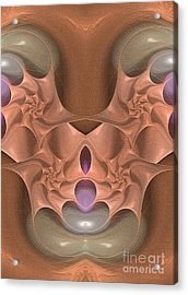 Master Of Mocca - Surrealism Acrylic Print by Sipo Liimatainen