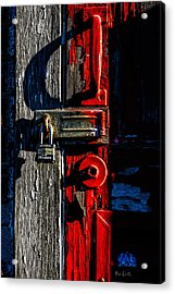Master Of The Old Red Barn Acrylic Print by Bob Orsillo
