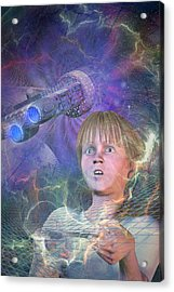 Master Of The Universe Acrylic Print by Carol and Mike Werner