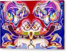 Master Of The Universe Acrylic Print by Omaste Witkowski