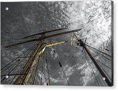 Masts And Rigging Acrylic Print