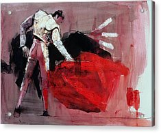 Matador Acrylic Print by Mark Adlington