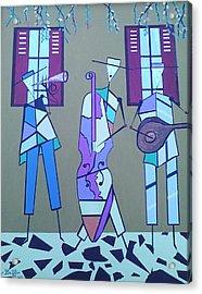 Matadores Of Music Lll Acrylic Print