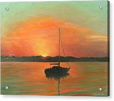 Matanzas Bay Sunrise Acrylic Print