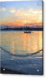 Matanzas Summer Sunrise Acrylic Print