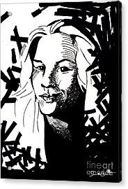 Match My Poem Entry Acrylic Print by Samantha Geernaert