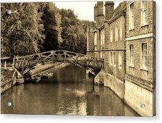 Mathematical Bridge Acrylic Print
