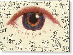 Mathematics Acrylic Print by Novastock
