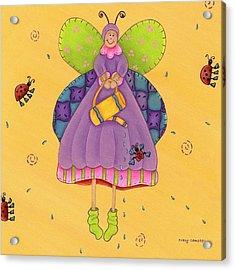 Matilda Acrylic Print by Tracy Campbell