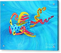Matisse The Fish Acrylic Print by Sarah Loft