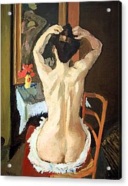 Matisse's La Coiffure Acrylic Print