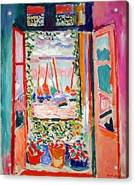 Matisse's Open Window At Collioure Acrylic Print