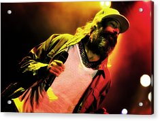 Matisyahu Live In Concert 2 Acrylic Print by Jennifer Rondinelli Reilly - Fine Art Photography