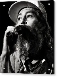 Matisyahu Live In Concert 3 Acrylic Print by Jennifer Rondinelli Reilly - Fine Art Photography