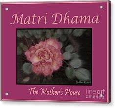 Matri Dhama Design 5 Acrylic Print