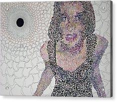 Matrix Acrylic Print by Amy Mackenzie