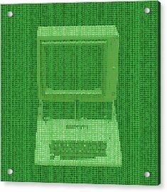 Matrix Computer Acrylic Print by Dan Sproul